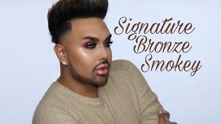 Bronze Smokey Eye Tutorial | Mac Daddyy | Angel Merino