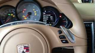 How To Change the Clock in a Porsche Panamera, Cayenne, 991 911, 981 Cayman or Boxster