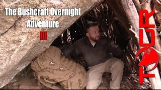 Real Bushcraft in a Winter Storm - The Bushcraft Overnight Adventure III
