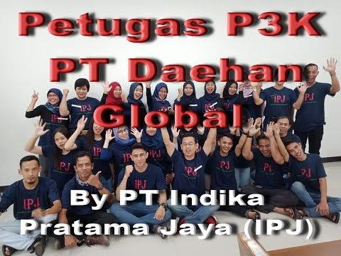 Training Sertifikasi Kemnaker RI, Petugas P3K PT Daehan Global