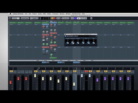 Cubase Elements 7 – New features tutorials – 2 – Mixer Part 2