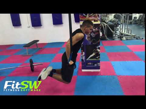 Suspended TRX Chest Dip: Chest, Pec Exercise Demo How-to