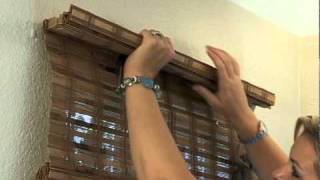 How to Install Woven Wood Window Shades