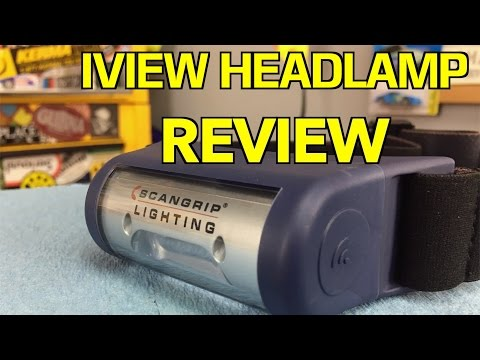 SCANGRIP I-VIEW Headlamp ~ REVIEW