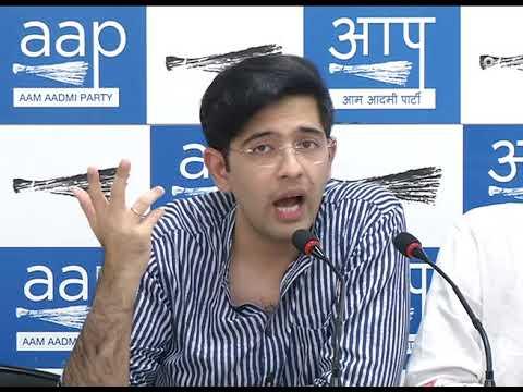 AAP Leader Raghav Chadha Briefs on the Increase of Prise of Petrol & Diesel