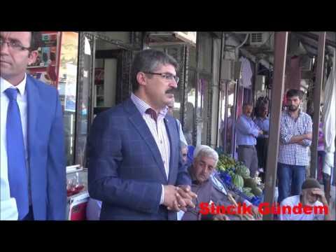 Ahmet Aydın Sincik'te