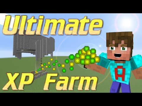 How to make an XP FarmMinecraft Mob GrinderXP Farm Minecraft Tutorial for Minecraft 1.12