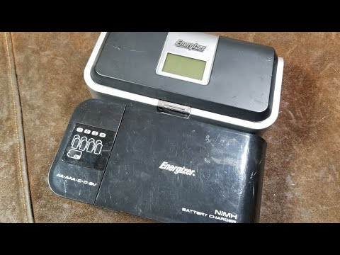 Energizer NiMh AA/AAA/C/D/9v Battery Charger Review