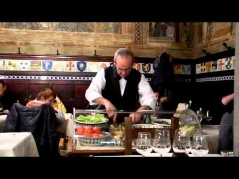 Ristorante Paoli Firenze - carrelli di servizio
