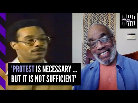 Charlie Cobb: 'Protest is necessary ... but it is not sufficient.'
