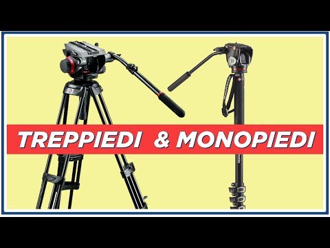Treppiedi e Monopiedi Professionali per Video