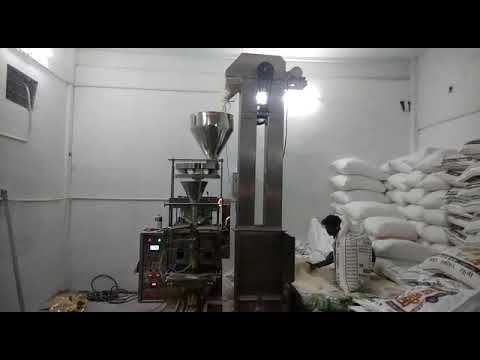 Automatic Pouch Packing FFS Collar Type With Cup Filler for sooji