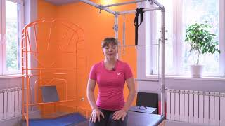 Простые и эффективные упражнения при шейном остеохондрозе 3ч.