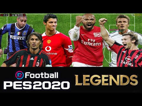 Classic patch Mod Games X PES 2020 - Legends Super PES 2020 `Update V3' Gameplay 4