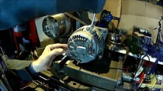 Car Alternator - bench test, tear down and inspection (Denso, Jeep Cherokee XJ, ZJ) Part 1
