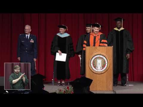 University of Arkansas DBCAFLS May 2016 Commencement