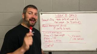 Week 8 - Let's Talk About Your 2 Rep Max - Thrower Preseason Training