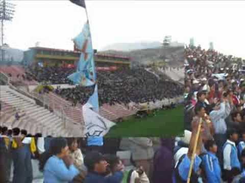 """Vendaval Celeste jrdo"" Barra: Vendaval Celeste • Club: Deportivo Garcilaso"