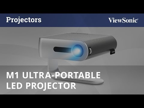 ViewSonic M1, Ultra-Portable LED Projector