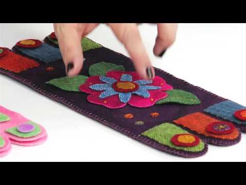 From the Sizzix Quilting Workshop: The Possibilities  with the Penny Rug Mat Die by Roseann Kermes