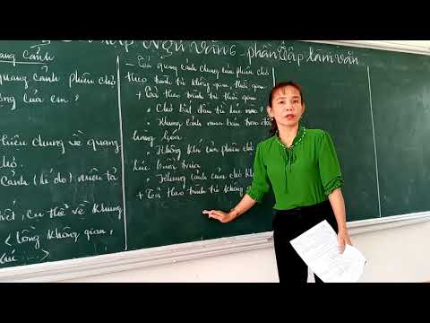 Ôn tập Ngữ văn 6 (Phần tập làm văn) - cô Đoan Trang