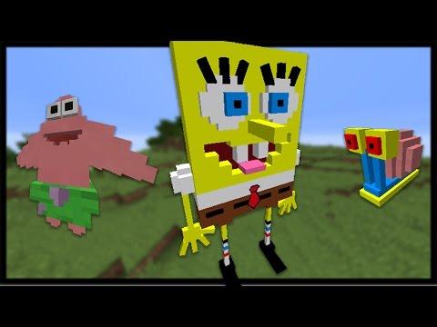 Minecraft Spongebob