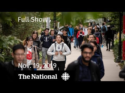 The National for Tuesday, Nov. 19 — University mental health crisis; cabinet details