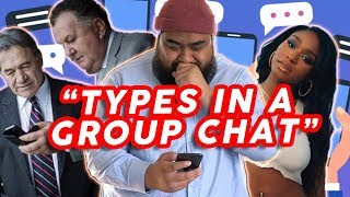 Types in a GROUP CHAT 📳👨👨👦👦 Cougar Boys