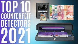Top 10: Best Counterfeit Bill Detectors for 2021 / Money Detector Checker / Fake Currency Detection