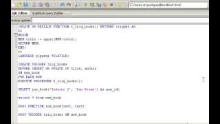 PostgreSQL tutorial - functions (Lesson 8)