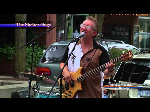 The Shelter Dogs -  at the Ypsilanti Crossroads Summer Festival
