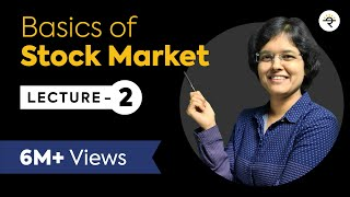 Basics of Stock Market For Beginners  Lecture 2 By CA Rachana Phadke Ranade