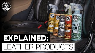 How To Choose The Best Leather Care Products! - Chemical Guys