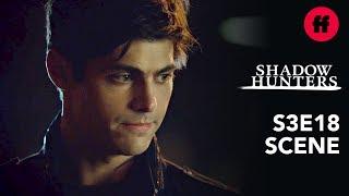 Shadowhunters Season 3, Episode 18 | Alec Tells Izzy About Asmodeus' Deal | Freeform