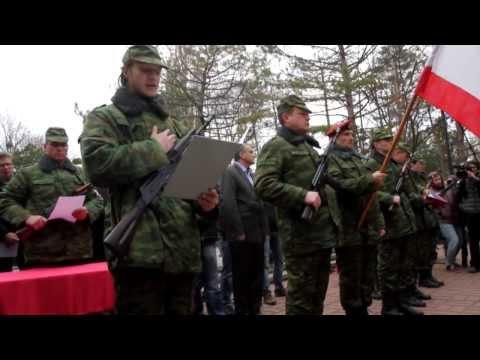 Военные принимают присягу автономной республики Крым видео