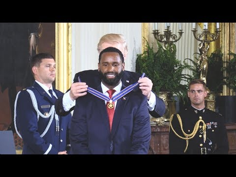President Trump Awards Heroic First Responders with Medal of Valor