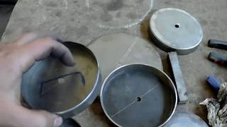 Ротационная вытяжка металла 2.5 мм