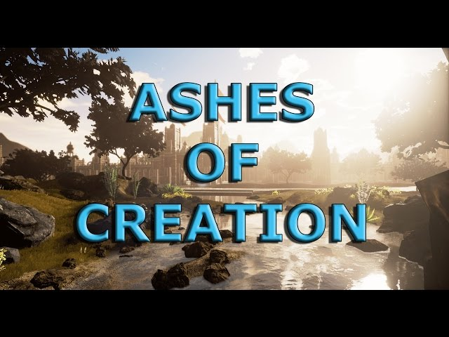 Ashes of Creation - Pre-Alpha Gameplay: Player Housing (Open World fantasy MMO)