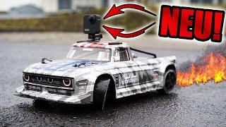 Mit NEUER 360° Kamera auf 140 Km/h RC AUTO driften! - GoPro Max 360 im Test
