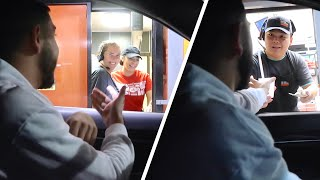 TIPPING DRIVE THRU WORKERS $1,000!! *EMOTIONAL*