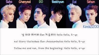 EXO-K - Run [Hangul/Romanization/English] Color & Picture Coded HD
