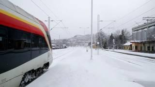 Zeleznicka stanica Veles - Voz: Veles - Skopje 06.01.2017 Badnik