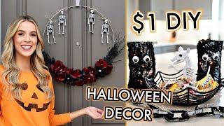 DOLLAR STORE DIY HALLOWEEN DECOR | Leighannsays | LeighAnnSays