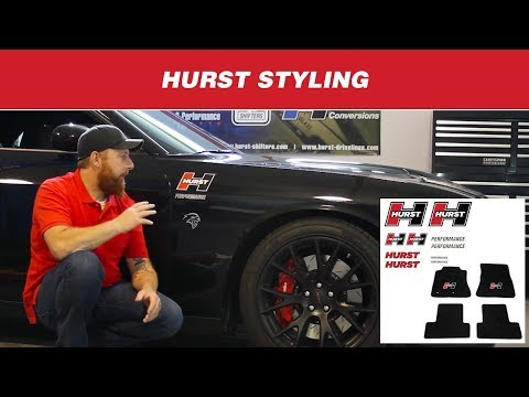 Hurst Performance Styling: Graphic Packs, Emblems, and Floor Mats