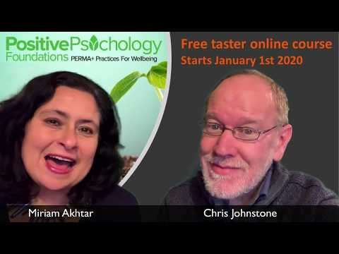 Positive Psychology Free Online Intro Course 2020 - YouTube