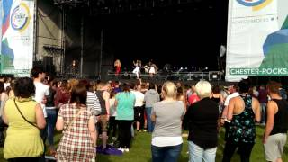 Neon Jungle, Chester Rocks 2014 - Neon Jungle - W.T.T.J