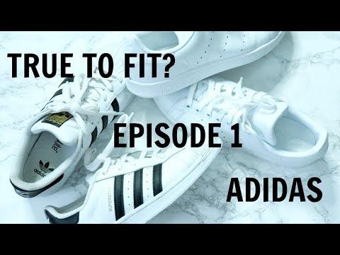 TRUE TO FIT? | EPISODE 1| Adidas Superstar & Stan Smith