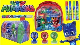 PJ MASKS  Craft Set with Superheroes CATBOY, OWLETTE & GEKKO