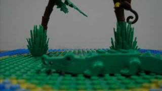 Rippy the Gator in Lego!