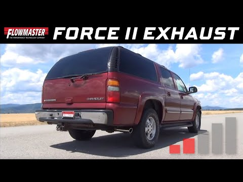 2001-06 Avalanche, Suburban, Yukon - Force II Cat-back Exhaust System 17341